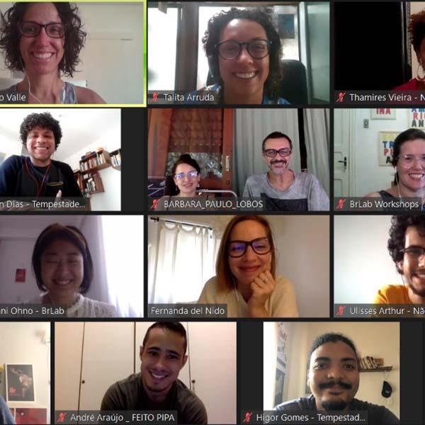Começa o Workshop de Design de Audiência do BrLab com Projeto Paradiso